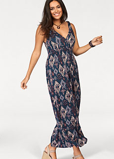 4c9202b16a170 Boysen s Patterned Maxi Dress