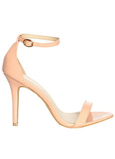 5bf23e684eb9 Glamorous Barely There Heels
