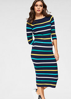 88c4981d471 Guido Maria Kretschmer Stripe Knitted Dress