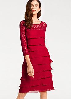 bda71b663f2 Heine Lace Tiered Evening Dress