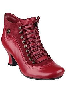 68ccf9444697 Hush Puppies  Viviana  Lace Up Heeled Boots