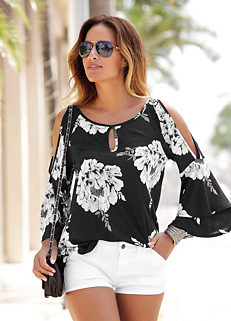 4aa9778a5418a4 Shop for Cold Shoulder | Tops | Womens | online at Freemans