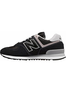 849e02fa6d148 New Balance 'ML574' Padded Collar Trainers
