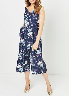 4eb7f5bb900 Oasis Floral Bloom Bardot Jumpsuit