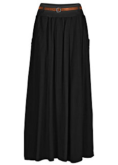 bbf3afb1be3e Pleated Maxi Skirt