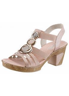 f5ca36d6a Rieker High Heel Jewelled Sandals