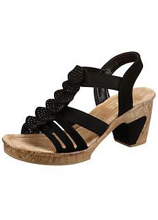Rieker Rhinestone Sandals