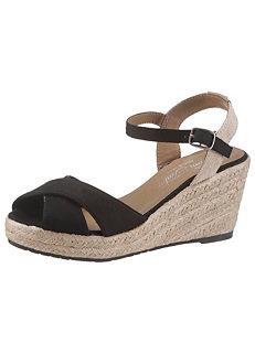 6b6e6eebd0f7 Tom Tailor High Wedge Sandals