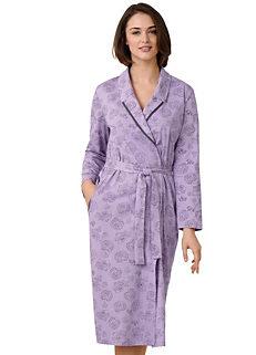 702518e646 Waschepur Floral Print Dressing Gown