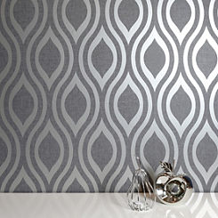 Shop For Metallic Wallpaper House Garden Online At Freemans