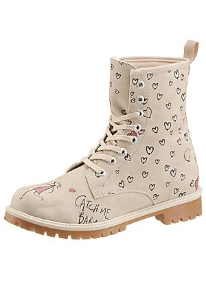 DOGO Lace Up Ankle Boots