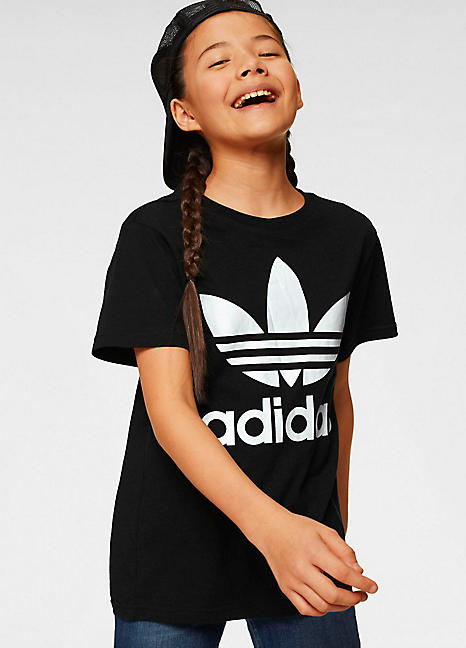 adidas Originals Kids 'Trefoil' T Shirt
