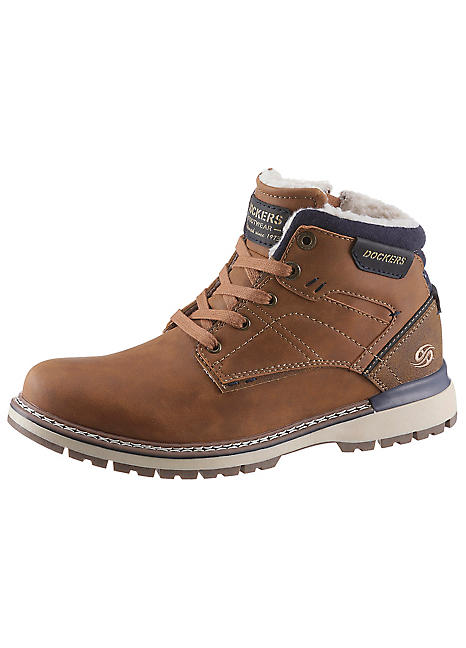 Dockers by Gerli Lace-Up Boots   Freemans