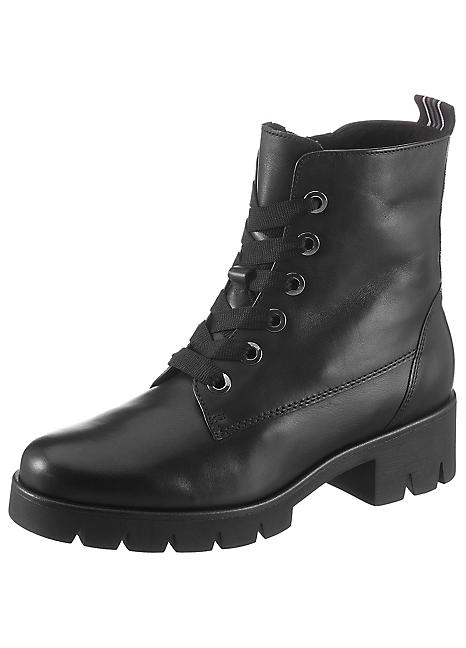 Gabor Suede Lace-Up Ankle Boots   Freemans