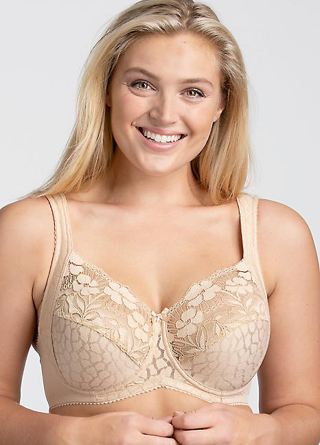 252bd4f0b6 Miss Mary of Sweden Underwired Jacquard Bra