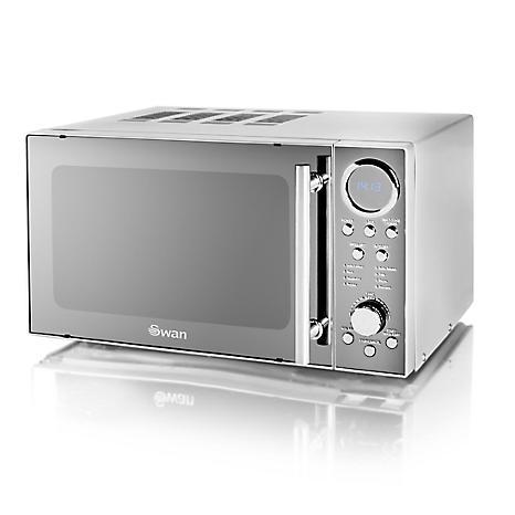 Swan Stainless Steel Microwave Sm3080n