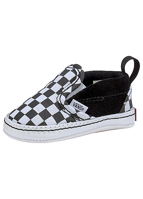 Vans Infant Checker Slip On V Crib Shoes