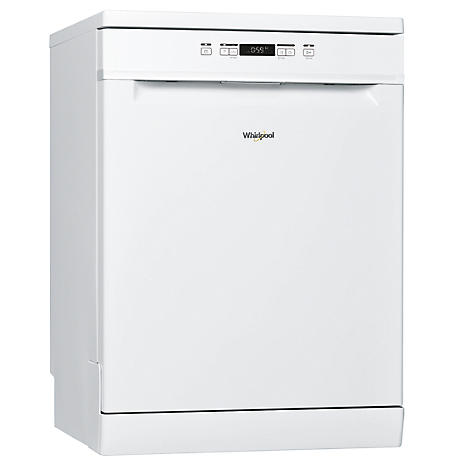 whirlpool full size dishwasher wfc 3b19 uk white freemans. Black Bedroom Furniture Sets. Home Design Ideas
