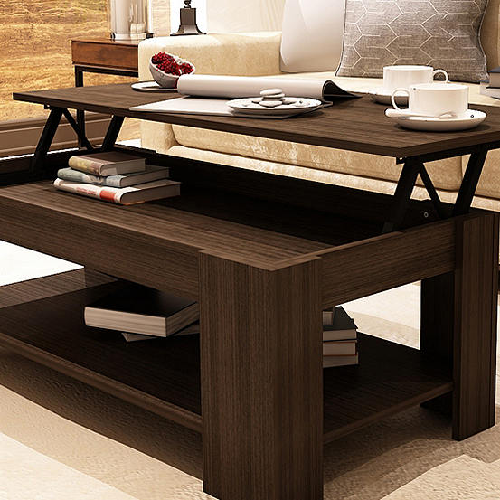 Lift Up Coffee Table With Storage 5