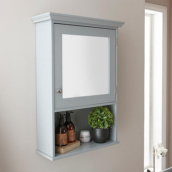 Cotswold Mirrored Bathroom Wall Cabinet