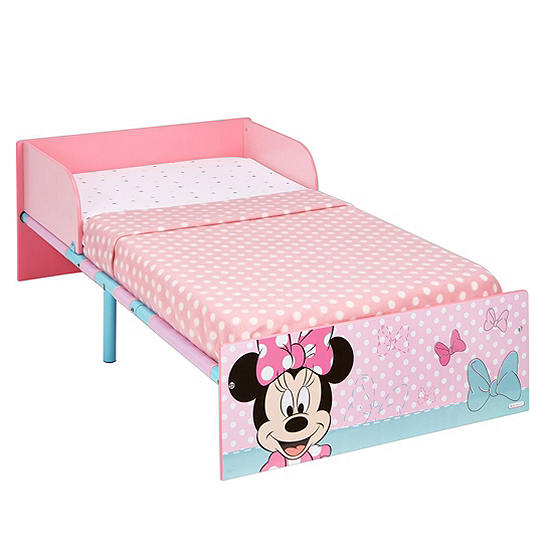 Disney Minnie Mouse Toddler Bed Freemans