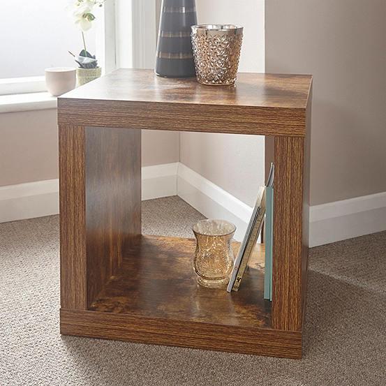best authentic 67cf2 86404 Jakarta Cube End Table