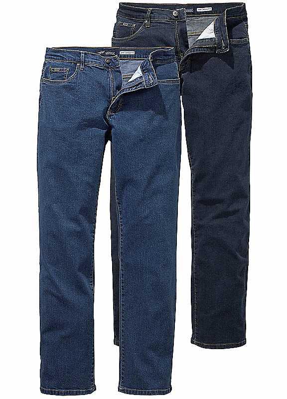 Arizona 2 Pack Straight Leg Jeans