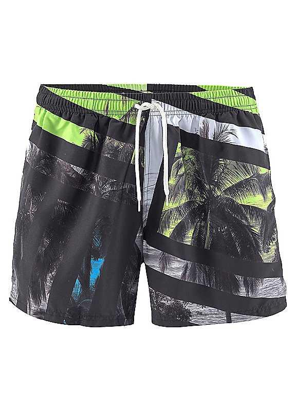 Buffalo Printed Swimming Shorts
