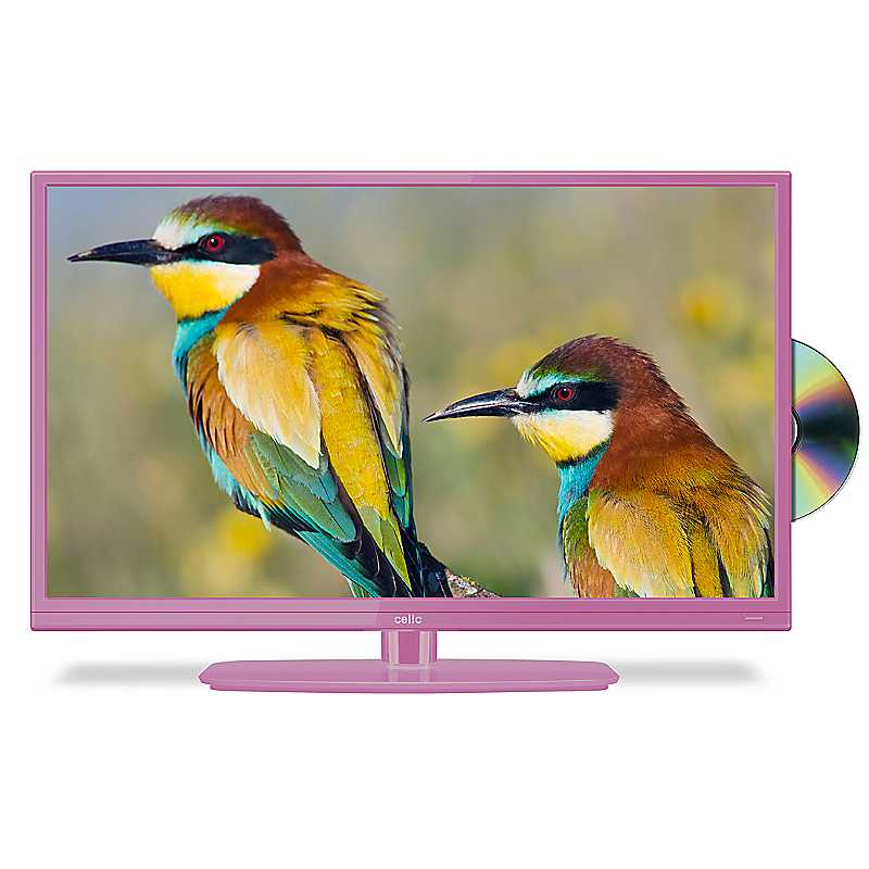 Cello 20 ins LED/DVD Combi C20230F - Pink