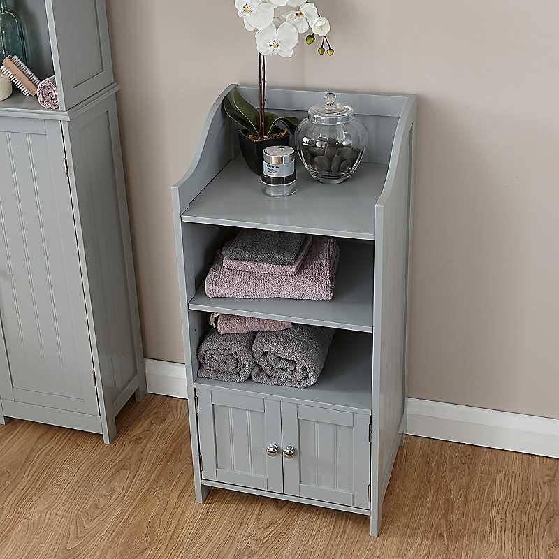Cotswold 3 Shelf 2 Door Cupboard