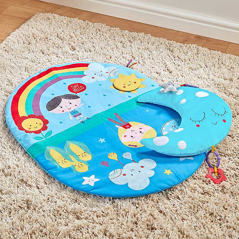 East Coast Nursery Say Hello to Tummy Time Play Mat