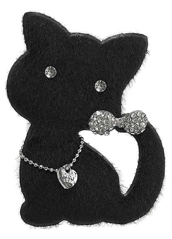 J. Jayz Cat Shaped Brooch