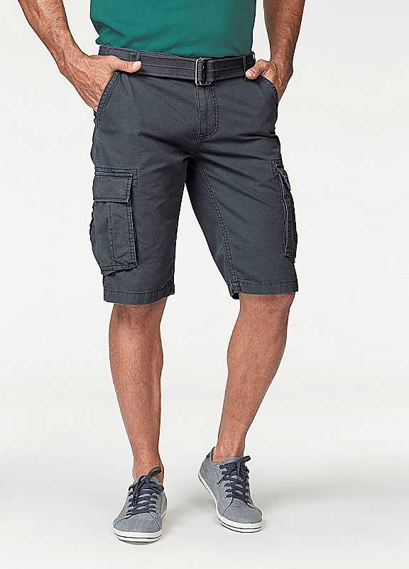 Man's World Cargo Shorts with Belt