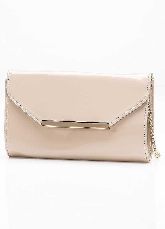 Patent Clutch Bag