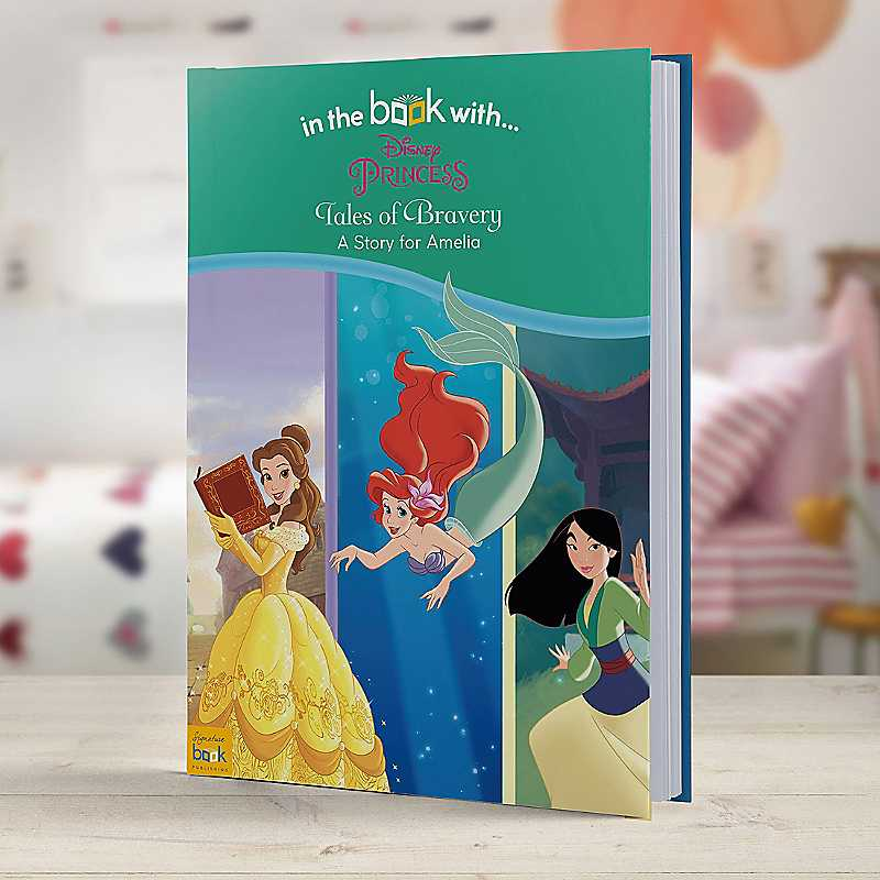 Personalised Disney Princesses: Tales of Bravery Hardback Book
