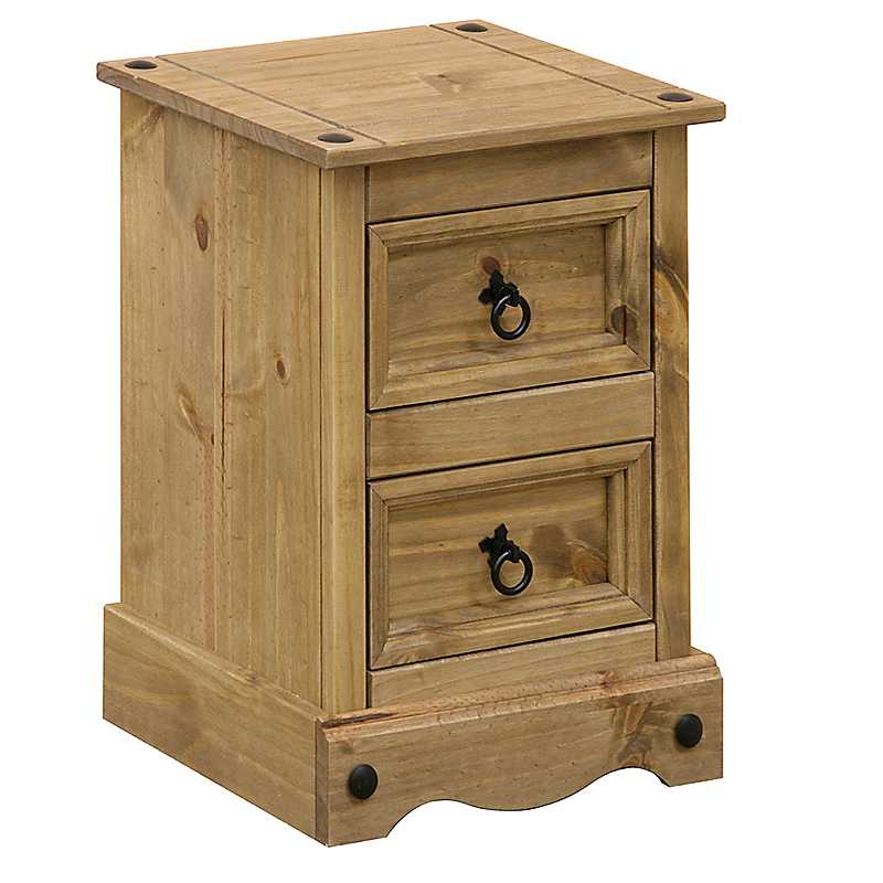 Sierra Petite 2 Drawer Bedside Chest