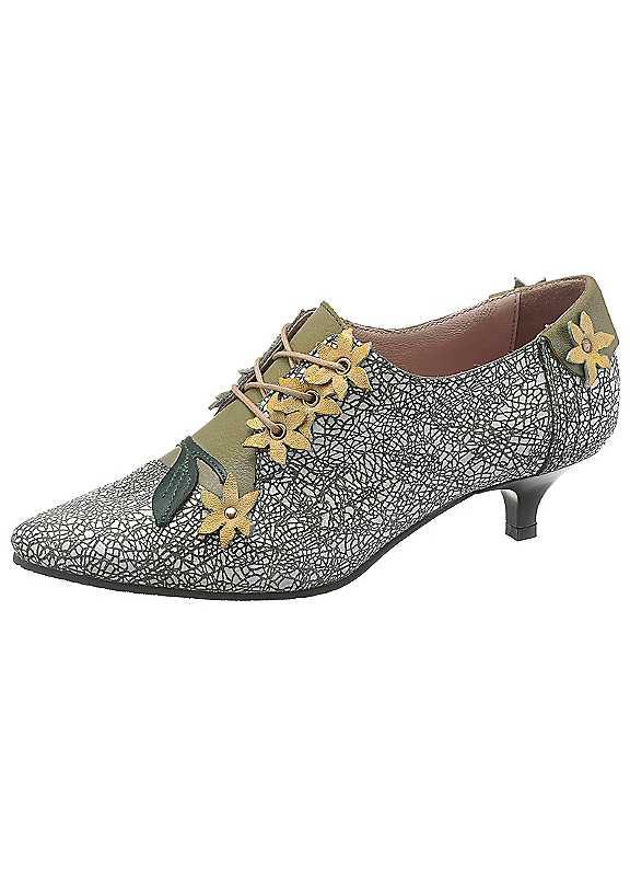 Simen Lace-Up Court Shoes