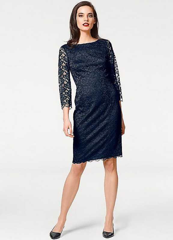 Singh Madan Lace Shift Dress