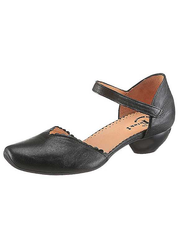 Think! Aida Mary Jane Court Shoes
