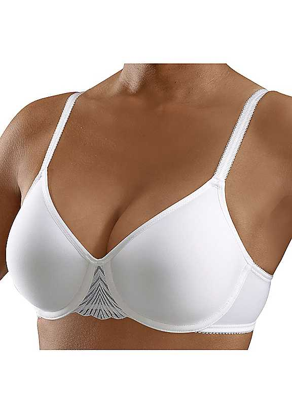 Triumph Beedees Spacer 'My Perfect Shaper WP' Padded Plunge Bra.